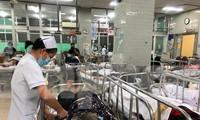 Cấp cứu bệnh nhân dịp tết tại Bệnh viện ở TPHCM