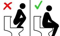 Ngồi xổm đi vệ sinh, nam thanh niên bị bồn cầu vỡ cứa rách mông