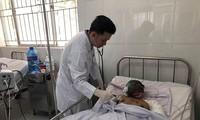 Bệnh nhân Thạch Vân đang được theo dõi và điều trị tích cực.