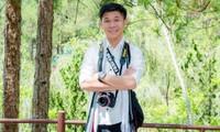 Chàng trai dân tộc Hoa Dương Vũ Kiệt (SN 1996) là một trong số nhiều đại biểu dân tộc tham dự Đại hội đại biểu toàn quốc Hội Sinh viên Việt Nam lần thứ X. Ảnh: FBNV