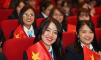 Đại biểu Đại hội Sinh viên Việt Nam trẻ trung, năng động
