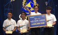 Nguyễn Bá Vinh giành ngôi quán quân cuộc thi tháng