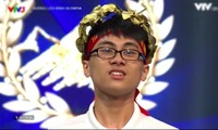 Nguyễn Xuân Huy (THPT Thăng Long, Hà Nội) giành chiến thắng vòng thi tháng 1 quý 1