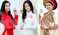 45 thí sinh lọt vào vòng chung kết Hoa khôi Sinh viên Việt Nam 2020. Ảnh: Ban tổ chức