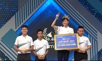 Vũ Quốc Anh giành chiến thắng trận thi Quý 2. Ảnh: FBCT