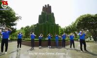 Áo xanh phòng chống Covid-19 bằng vũ điệu Ghen Cô Vy