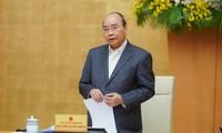 Thủ tướng Nguyễn Xuân Phúc tại buổi làm việc với T.Ư Đoàn. Ảnh: Xuân Tùng
