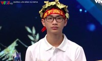 """Nguyễn Việt Anh """"liều ăn nhiều"""" trong phần thi Vượt chướng ngại vật, giành chiến thắng trong cuộc thi"""