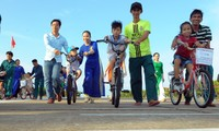 T.Ư Hội LHTN Việt Nam tổ chức tuyên dương Gia đình trẻ tiêu biểu 2020. (Trong ảnh, gia đình trẻ ở Trường Sa). Ảnh: Xuân Tùng