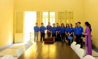 Tuổi trẻ T.Ư Đoàn thăm nơi Chủ tịch Hồ Chí Minh viết Tuyên ngôn Độc lập
