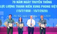 Trong những dấu mốc lịch sử Việt Nam đều có Lực lượng TNXP