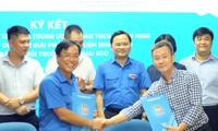 T.Ư Đoàn ký kết thúc đẩy hoạt động bảo vệ môi trường