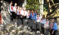 Đại hội Cháu ngoan Bác Hồ báo công Vua Hùng, trao tặng công trình 'Vì đàn em thân yêu'