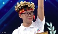 Trần Đức Trung là thí sinh đầu tiên Olympia đạt điểm tuyệt đối phần thi Tăng tốc