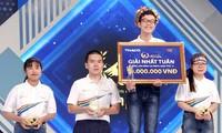 Võ Văn Hữu giành tấm vé cuộc thi tháng 2 quý II Đường lên đỉnh Olympia. Ảnh: FBCT