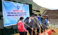 Khởi công Nhà 100 đồng, Nhà Nhân ái tặng thanh niên vùng cao có hoàn cảnh khó khăn