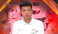 Quang Huy đã có phần thi vượt chướng ngại vật ấn tượng