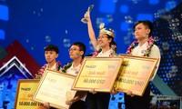 Chung kết năm Olympia 21 được lùi thời điểm tổ chức do dịch bệnh COVID-19. (Trong ảnh là trận chung kết Olympia năm thứ 20 với chiến thắng của Nguyễn Thị Thu Hằng)
