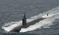 Tàu ngầm USS Ashevill thuộc lớp Los Angeles của hải quân Mỹ