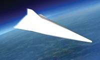 Hình ảnh mô phỏng vũ khí siêu thanh của Trung Quốc