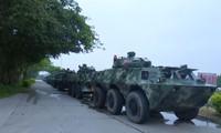 Xe bọc thép của Cảnh sát vũ trang Trung Quốc