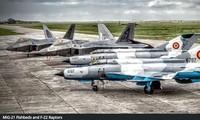 MiG-21 và F-22