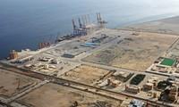 Cảng biển Gwadar, Pakistan, nơi Trung Quốc có ý định xây một căn cứ hậu cần phục vụ hải quân của họ