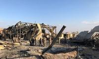 Hiện trường vụ tấn công của Iran vào căn cứ có quân đội Mỹ trú đóng
