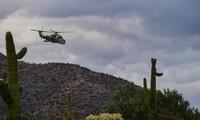 Trực thăng Mi-24 được không quân Mỹ mang ra tập trận