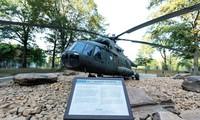 Chiếc trực thăng Nga trong khuôn viên trụ sở Cơ quan tình báo CIA