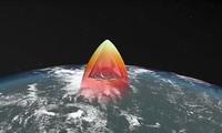Hình ảnh mô tả một loại vũ khí siêu thanh