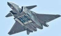 Trung Quốc đến nay được cho là chỉ mới chế tạo được khoảng 50 máy bay chiến đấu tàng hình thế hệ thứ năm J-20