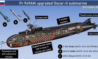 Tàu ngầm lớp OSCAR II có thể mang nhiều loại