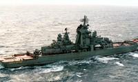 Tàu chiến mạnh nhất của Hải quân Nga, tuần dương hạm Đô đốc Nakhimov, thời điểm chưa hiện đại hóa