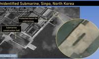 Hình ảnh được cho là con tàu bí ẩn ở Triều Tiên