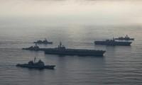 Một cụm tác chiến tàu sân bay Mỹ