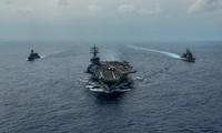 Nhóm tàu sân bay tấn công Ronald Reagan của hải quân Mỹ