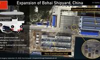 Nhà máy đóng tàu Bột Hải của Trung Quốc