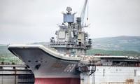 Tàu sân bay Kuznetsov của hải quân Nga