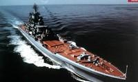 Tàu Đô đốc Nakhimov, một trong bốn tàu tuần dương hạt nhân lớp Kirov do Liên Xô chế tạo