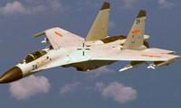 Tiêm kích J-11B của không quân Trung Quốc