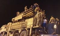 Một hệ thống phòng không Pantsir S1 bị quân chính phủ Libya bắt giữ và đem ra diễu hành ở thủ đô Tripoli, tháng 5 năm 2020.
