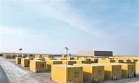 Các container được biến thành nhà ở di động cho binh sỹ Trung Quốc