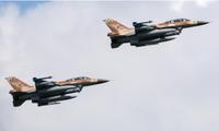 Hai tiêm kích F-16 của Không quân Israel
