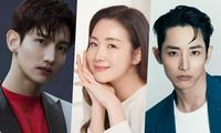 'Nữ hoàng nước mắt' Choi Jiwoo xuất hiện bên hai 'mỹ nam giai trẻ' sau lùm xùm cá nhân
