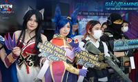 Những cô nàng diện cosplay đẹp mê ly tại vòng Chung kết XGaming UEC 2021