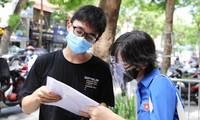 Thí sinh dự thi tốt nghiệp THPT năm 2021 tại Hà Nội.