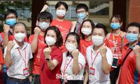 Hàng trăm sinh viên ưu tú tham gia hỗ trợ công tác phòng chống dịch