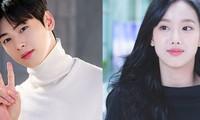 Cha Eun Woo (Astro) và Naeun (April) là 2 Idol có visual đẹp nhất trong mắt các Idol