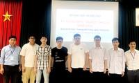 Việt Nam giành 6 huy chương tại Olympic Tin học Châu Á - Thái Bình Dương